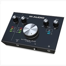 M-AUDIO MTrack 2X2 Внешний USB-аудиоинтерфейс