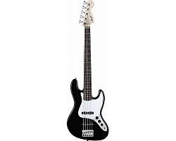 FENDER SQUIER AFFINITY JAZZ BASS (RW) BLACK Бас-гитара