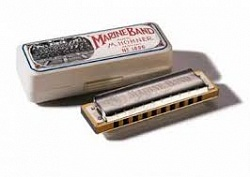 Губная гармошка Marine Band C-harmonic minor HOHNER M1896216